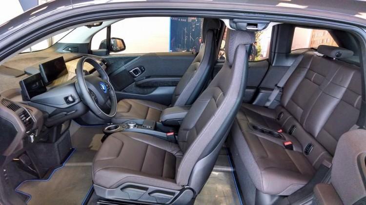 BMW i3 REx interiors