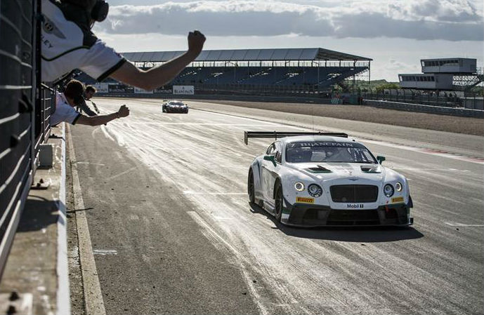 Bentley Continental GT3 Storms Victory at Silverstone