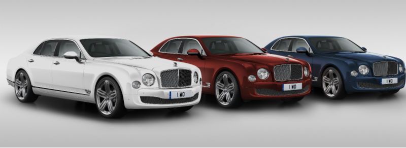 Bentley Mulsanne 95th Anniversary Special Edition Revealed
