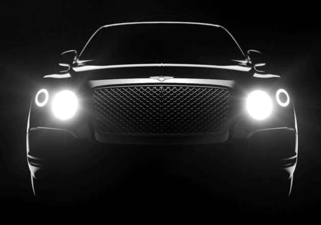 Bentley SUV Teased