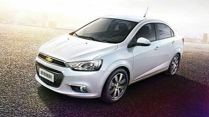 Chevrolet Sonic Facelift Revealed for China