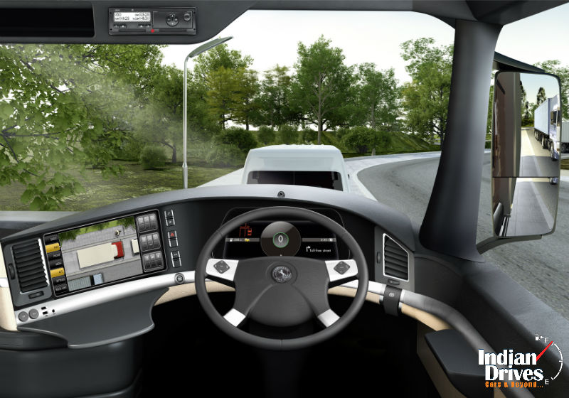 Continental Introduces 5 inch TFT Displays for Indian Commercial Vehicle Industry