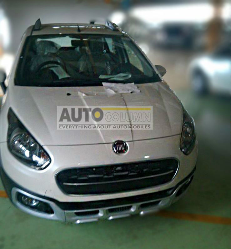Fiat Avventura Crossover Styled Hatchback Spotted