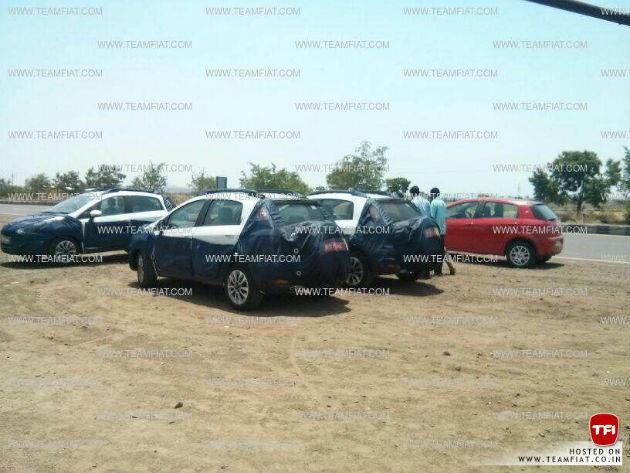 Fiat Avventura backview spyshot