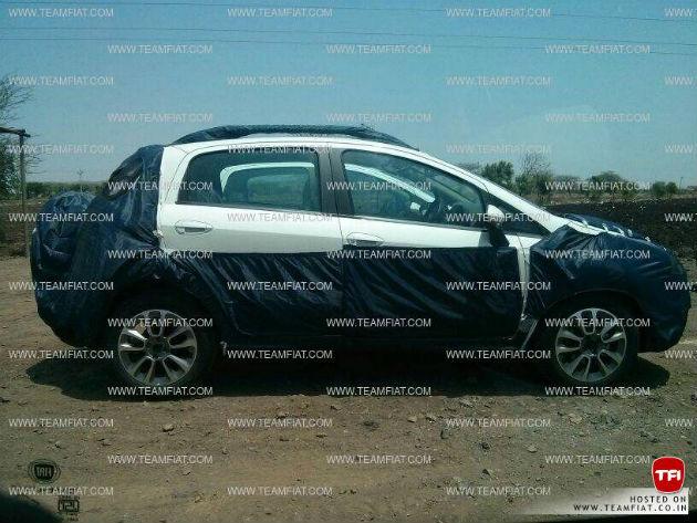 Fiat Avventura side spyshot