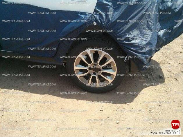 Fiat Avventura wheel spyshot