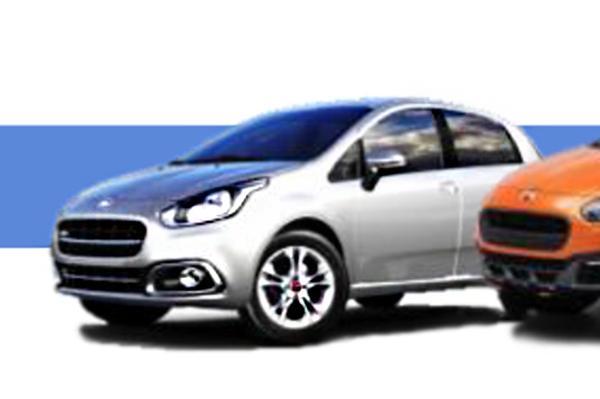 Fiat Punto Facelift Image Leaked