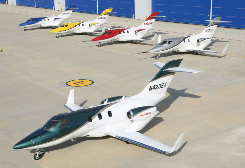 First Production HondaJet HA-420 Planned To Fly This Summer