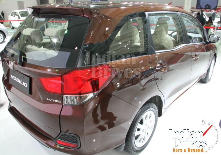 Honda Mobilio Back View
