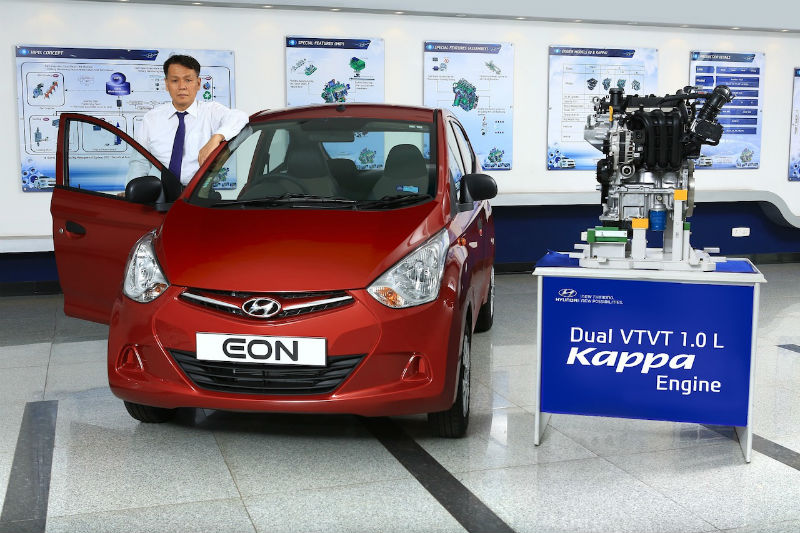 Hyundai Eon with 1.0L Kappa Engine Launched for Rs 3.83 lakh
