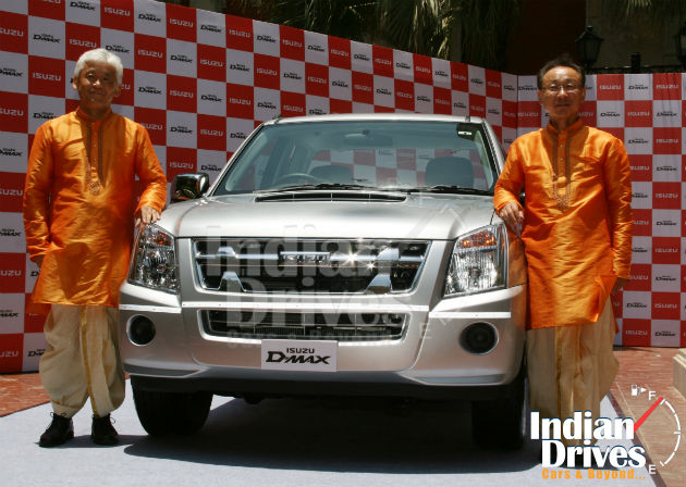 Isuzu D-Max pick-up truck launched in India