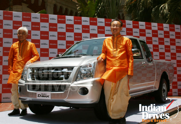 Isuzu D-Max pick-up truck launched