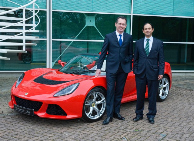 Jean Marc Gales Lotus Cars