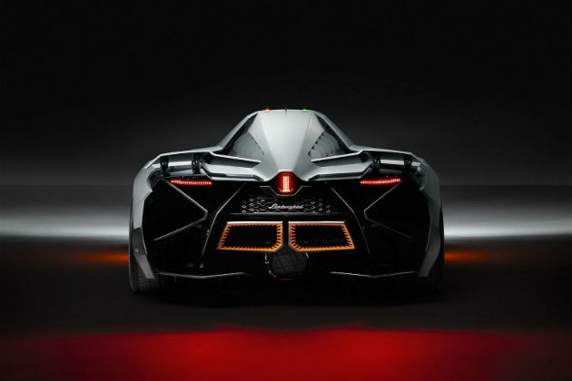 Lamborghini Egoista Back view