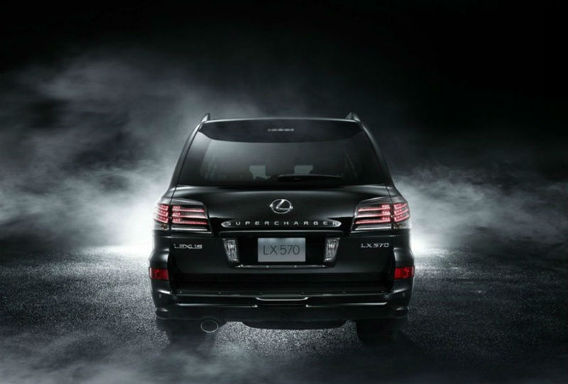 Lexus LX 570 Supercharged Back View