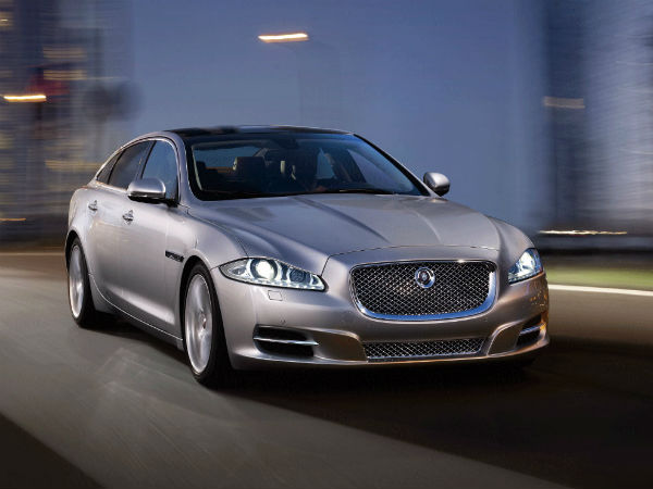 Locally Manufactured Jaguar XJ Launched in India