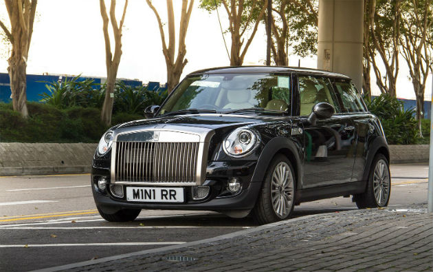 MINI Rolls-Royce Spotted in Hong Kong