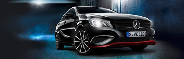 Mercedes-Benz A-Class Diesel Now Available in Black Colour