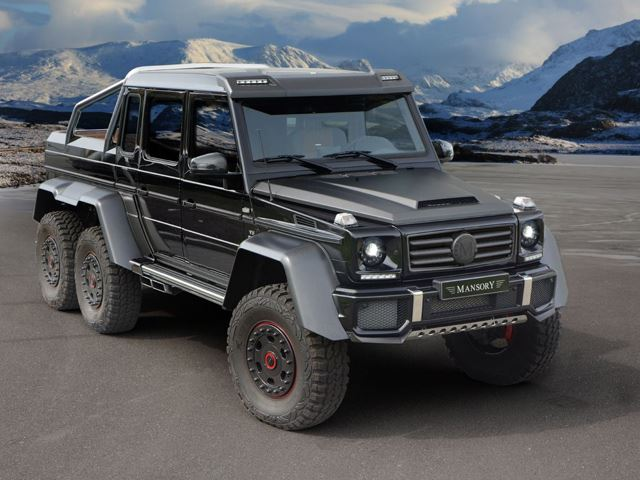 Mercedes-Benz G63 6x6 Tuned by Mansory Revealed