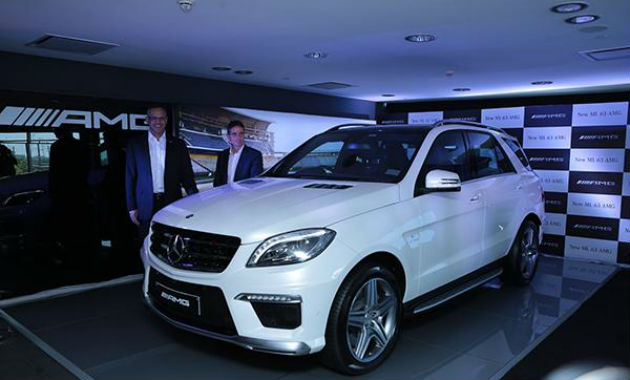 Mercedes-Benz ML63 AMG Launched in India for Rs 1.49 Crore