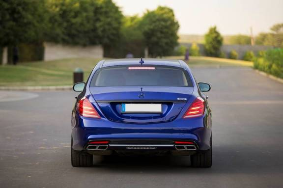Mercedes Benz S Class Modded By DC Rear