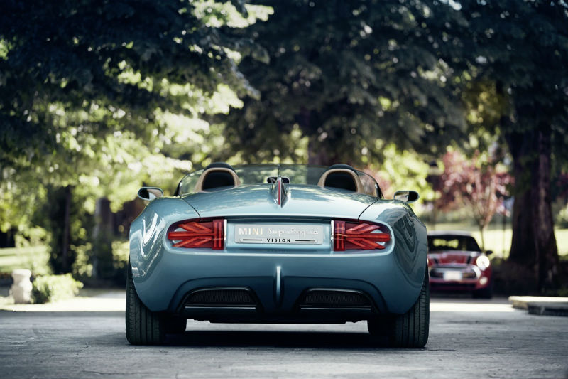 Mini Superleggera Vision concept Back View