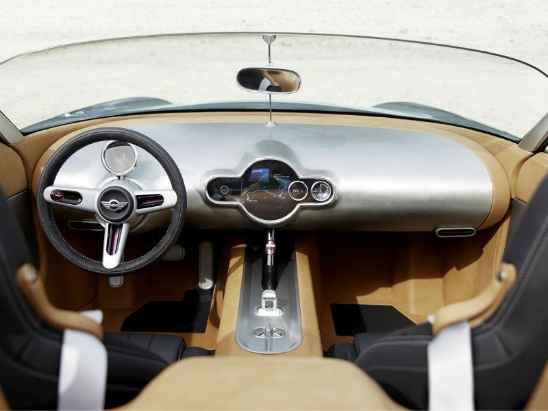 Mini Superleggera Vision concept interiors