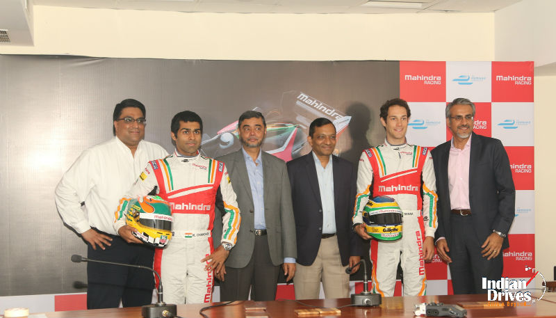 Mahindra Racing in inaugural FIA Formula E Championship