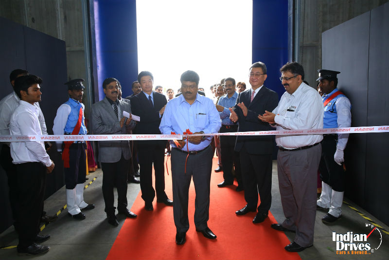 Nissan Inaugurates New Parts Distribution Centre In Chennai