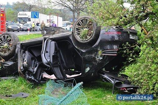 Porsche Macan Crashed in Poland First Accident