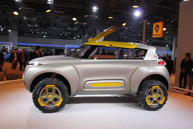 Renault KWID  Side View