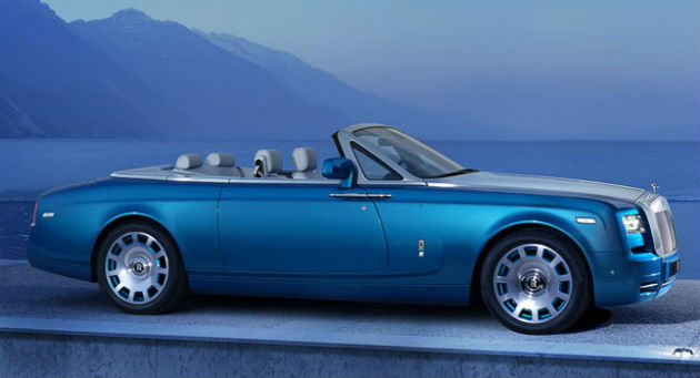 Rolls-Royce Announces New Special Drophead Coupe Waterspeed