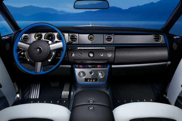 Rolls-Royce Waterspeed Collection Interior