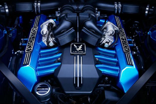 Rolls-Royce Waterspeed Edition Engine