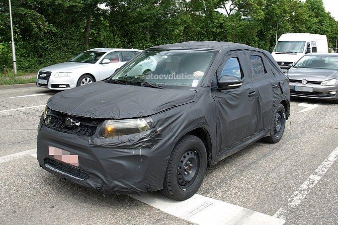 Suzuki Grand Vitara Spy Pic