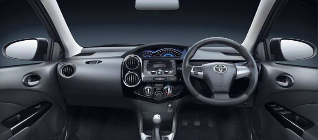 Toyota Etios Cross Interior