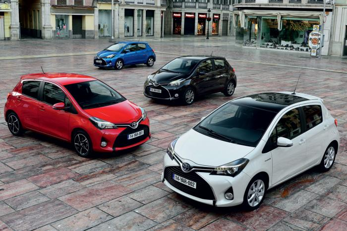 Toyota Yaris Facelift Revealed
