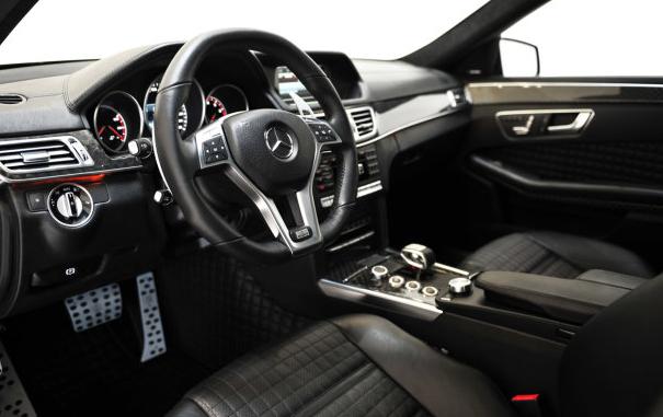 Brabus Mercedes-Benz E63 AMG interiors