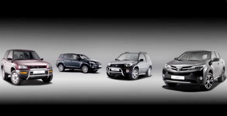 Toyota Celebrates 20 Years of RAV4