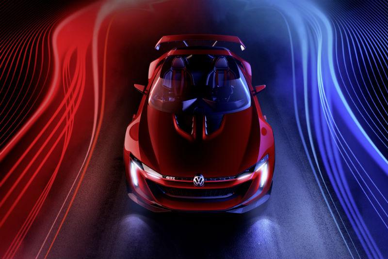 Volkswagen GTI Roadster Front View