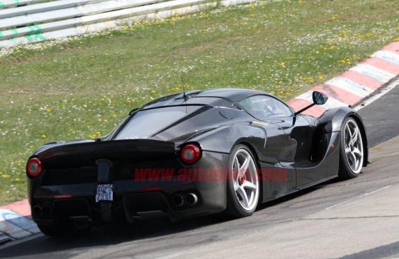 Ferrari LaFerrari XX Spy Shots Photos