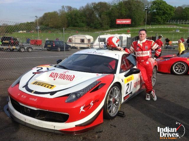 Mr. Gautam Singhania wins 2014 Pirelli Ferrari Open held in the UK