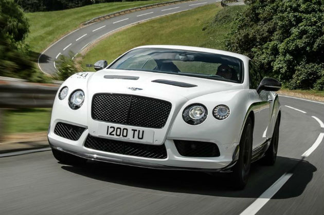 Bentley Continental GT3-R Revealed