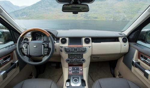 2015 Land Rover Discovery interiors