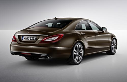 2015 Mercedes-Benz CLS Facelift Back View