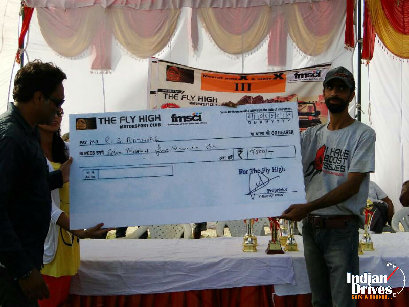 Polaris India bags Fastest Vehicle award in Meerut Motor Rally 2014
