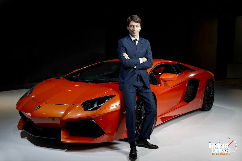 Andrea Baldi is New Head of Automobili Lamborghini for Asia Pacific Region