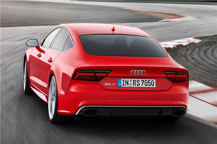 Audi RS7 Facelift Back View