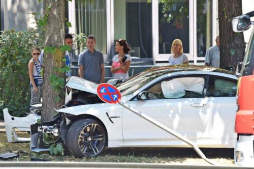 BMW M4 Crashed in Germany