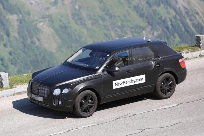 Bentley SUV Spied Testing with Complete Details; Interiors Revealed